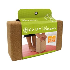 Gaiam ladrillo corcho yoga