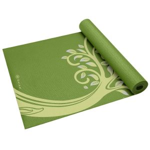 gaiam print yoga mat