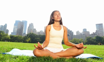 yoga helps reduce stress