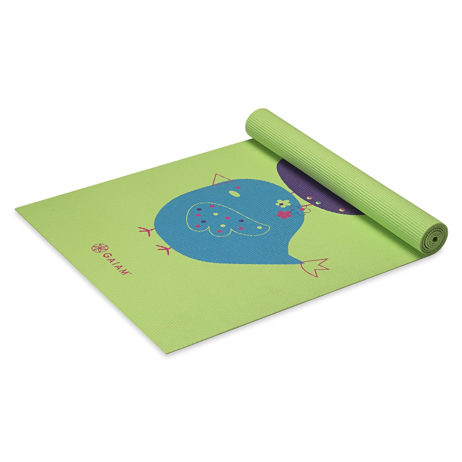 gaiam kids yoga mat birdsong