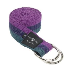 hugger mugger d-ring yoga strap 6-foot