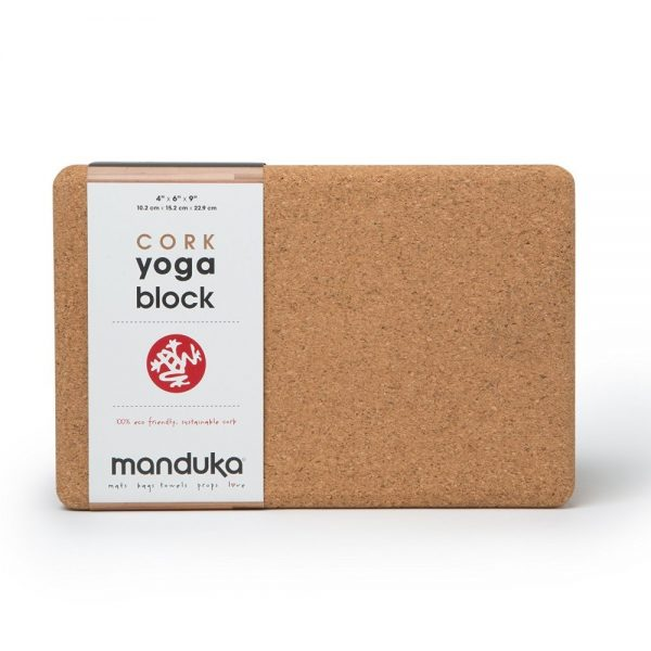 manduka yoga cork block