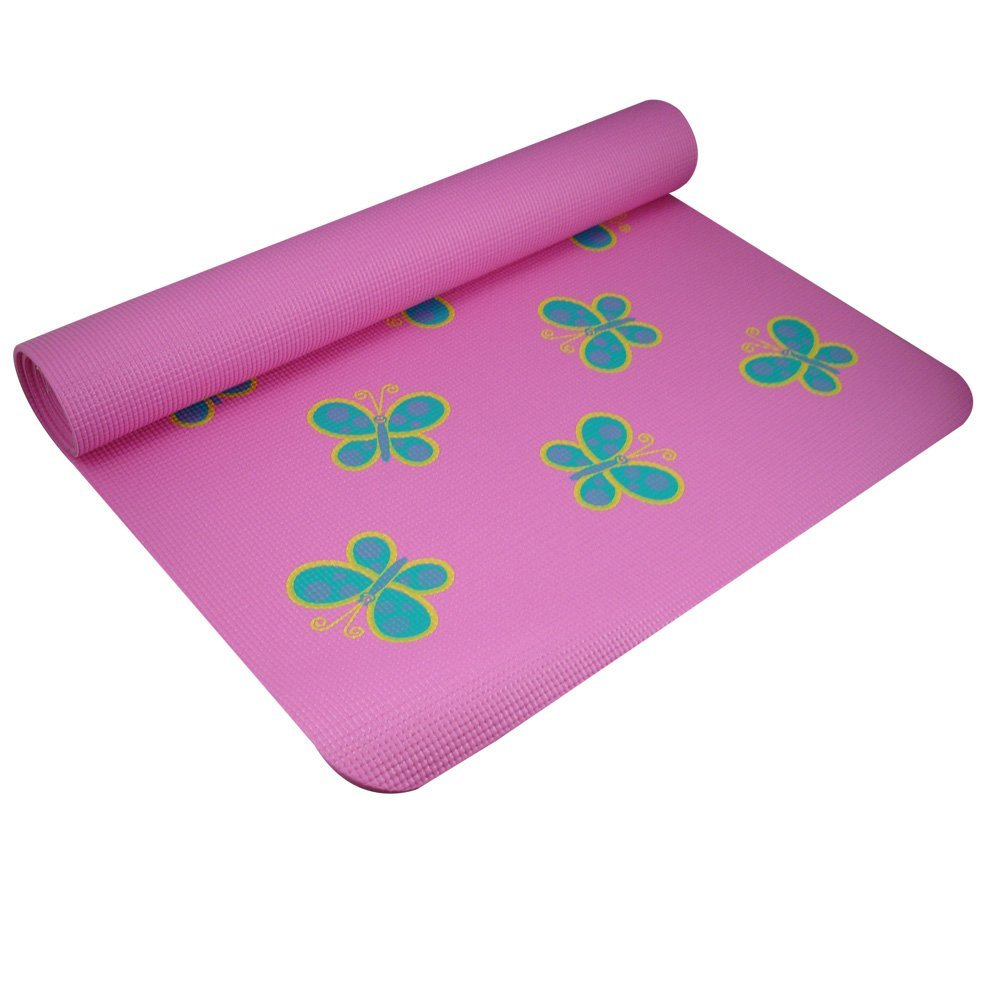 yogadirect fun yoga mat for kids butterfly
