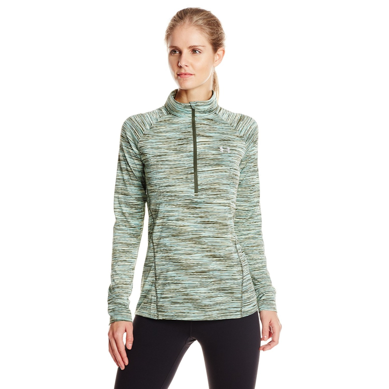 under armour womens tech space dye yoga shirt