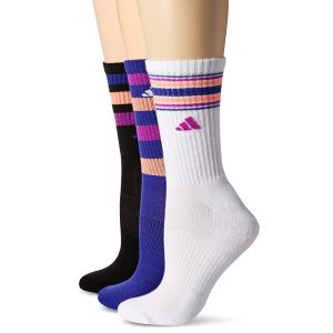 adidaS womens cushioned crew socks