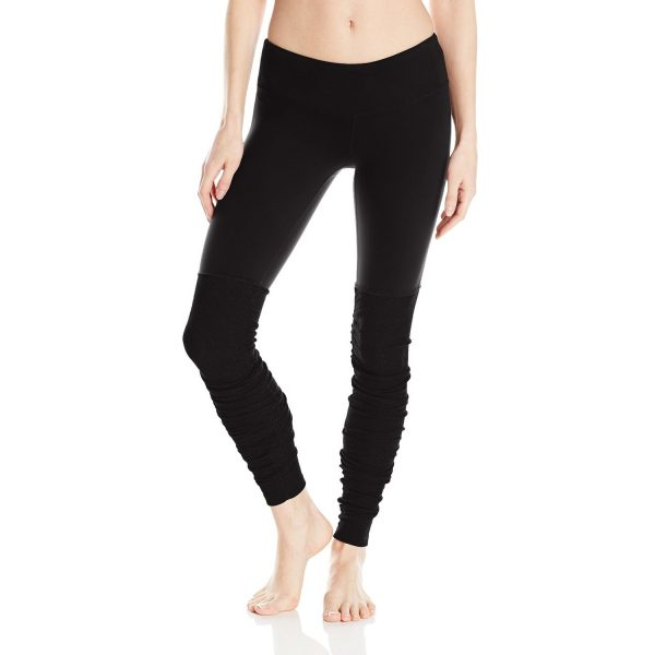 alo yoga womens goddess ribbed legging
