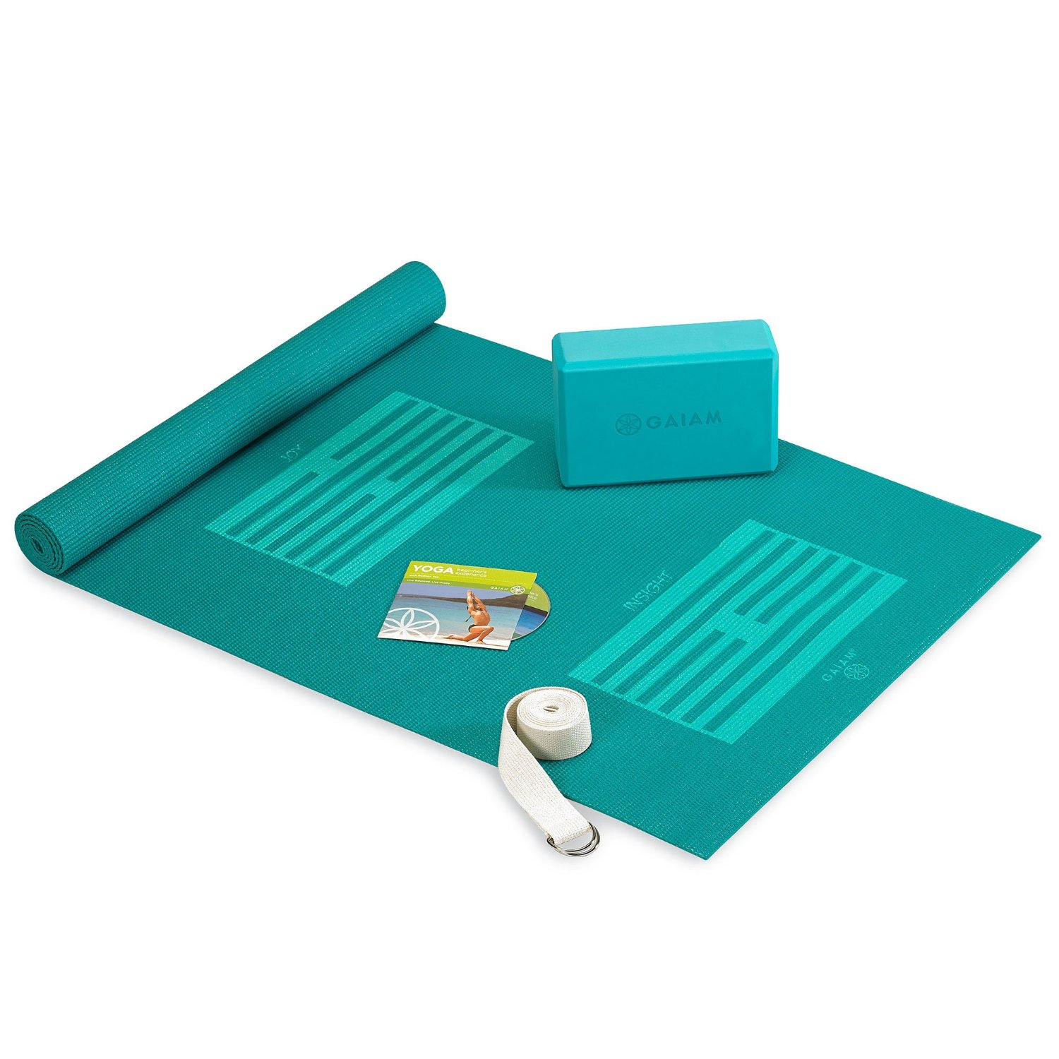 kit de inicio de yoga Gaiam