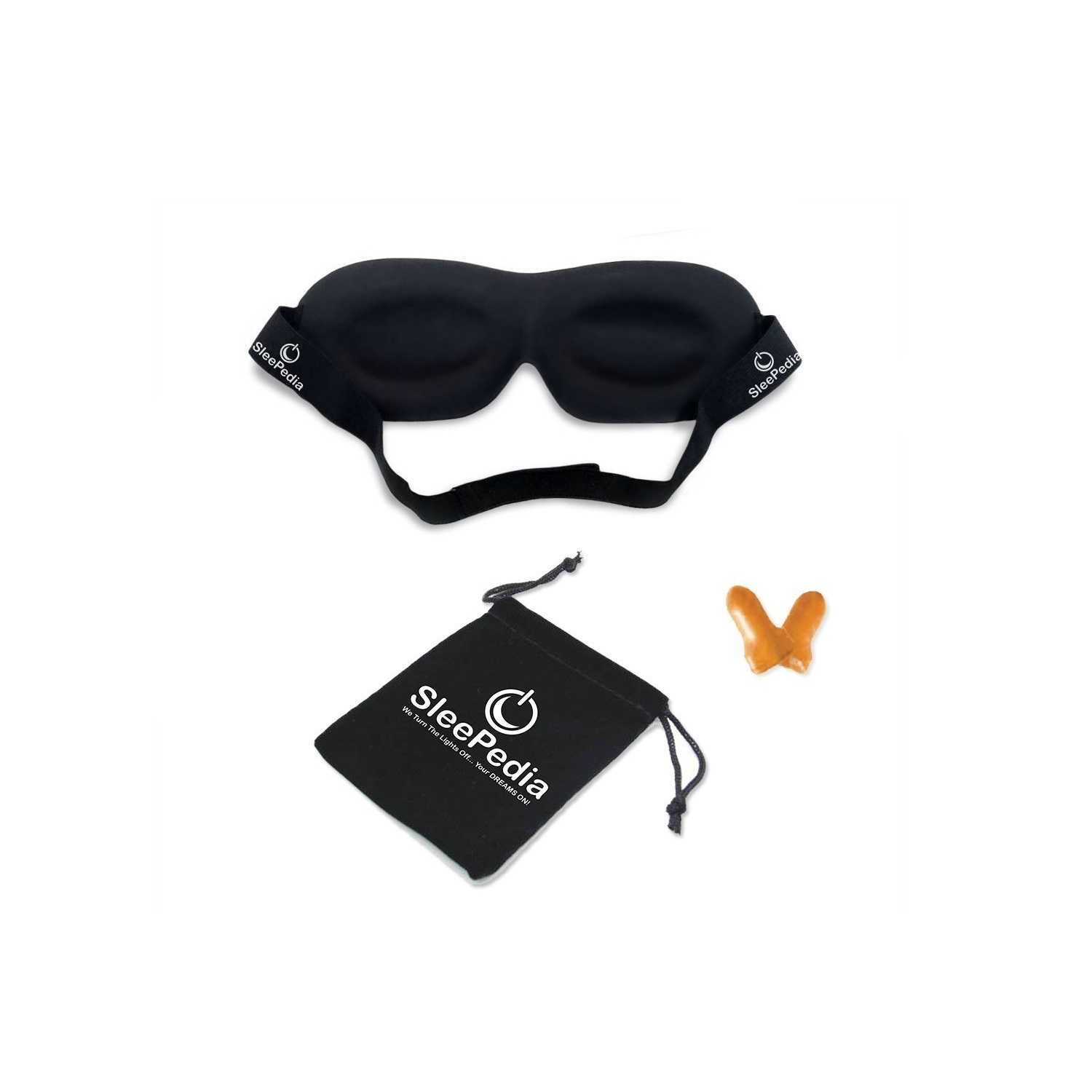 sleepedia contoured sleep eye mask