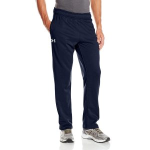 ua mens armour fleece yoga pant