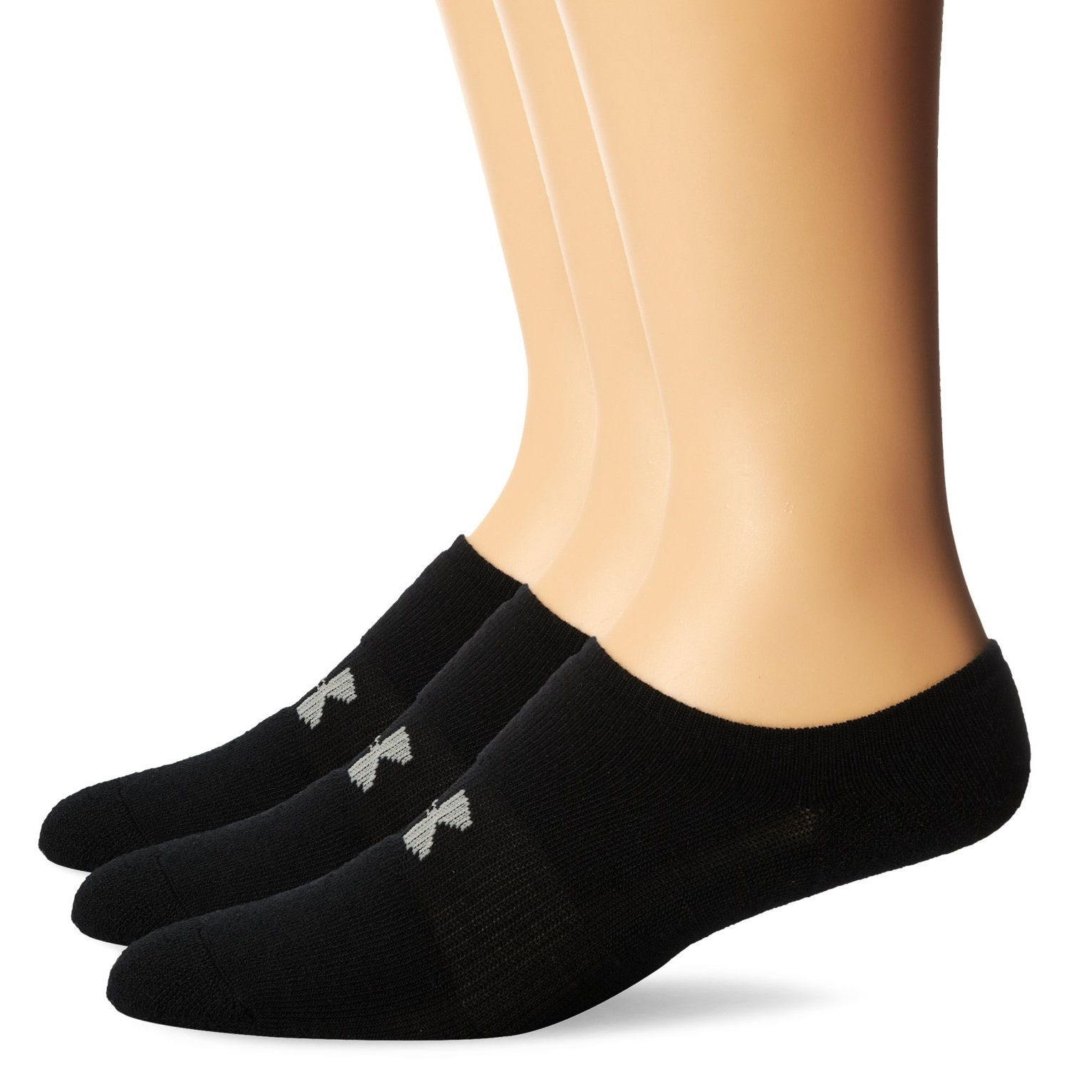 under armour mens heatgear solo no-show socks
