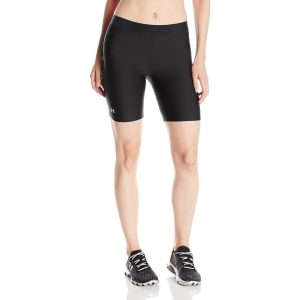 under armour womens heatgear long yoga shorts