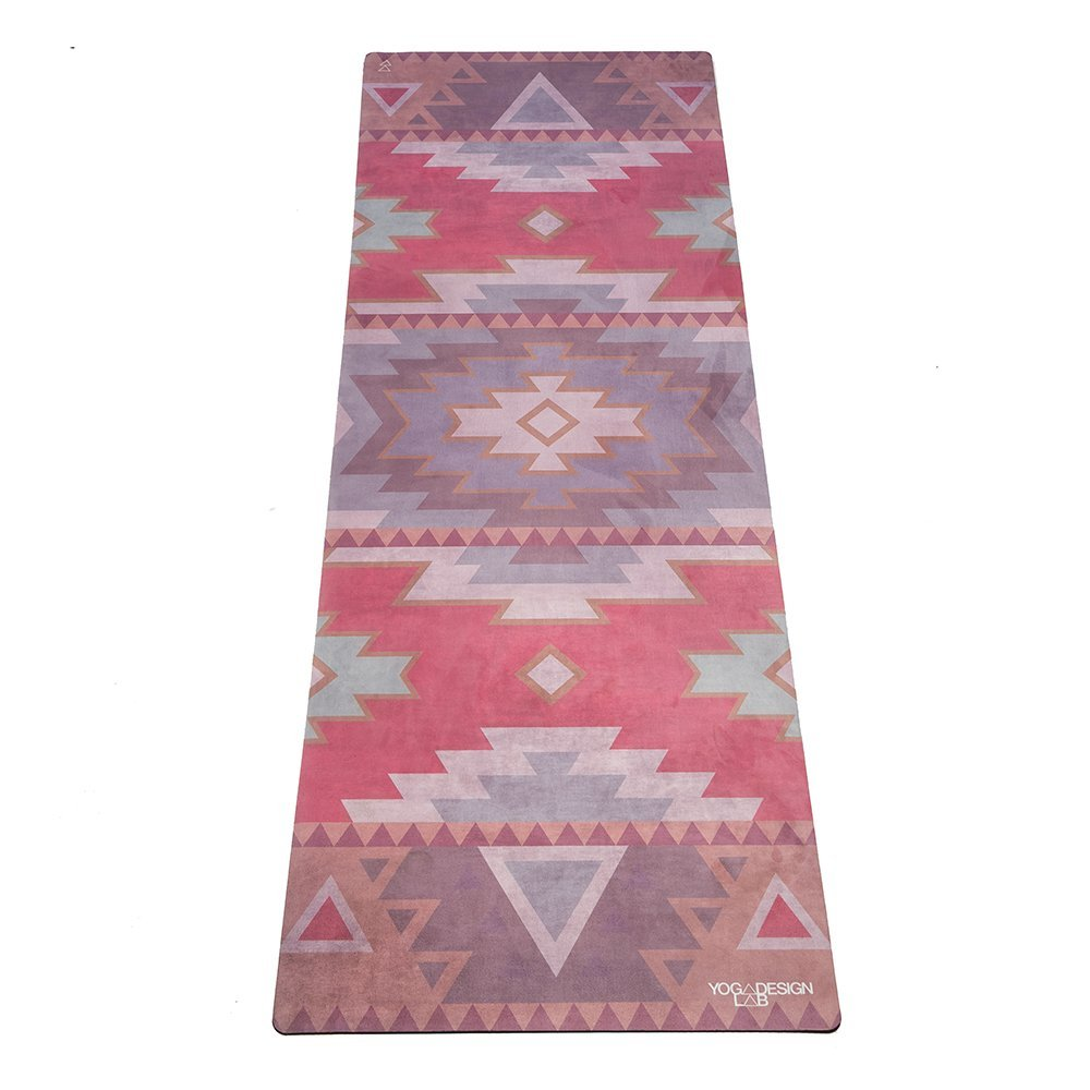 the combo yoga mat towel design, tribal coral
