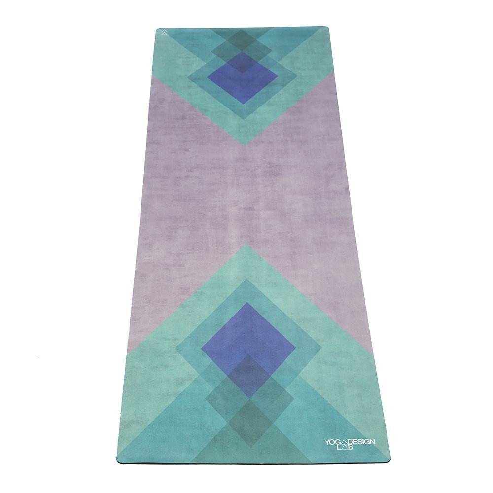the combo yoga mat towel design, collage green
