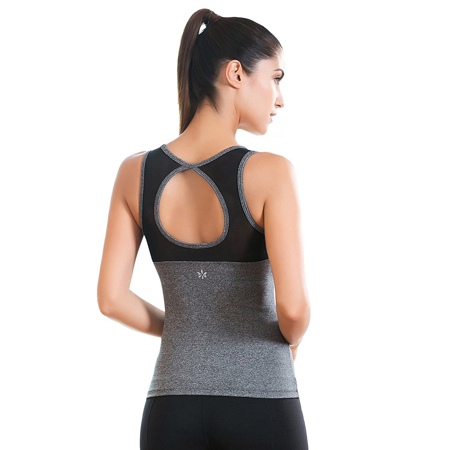 8e8c479fce move with you womens cicle cutout mesh yoga tank top grey