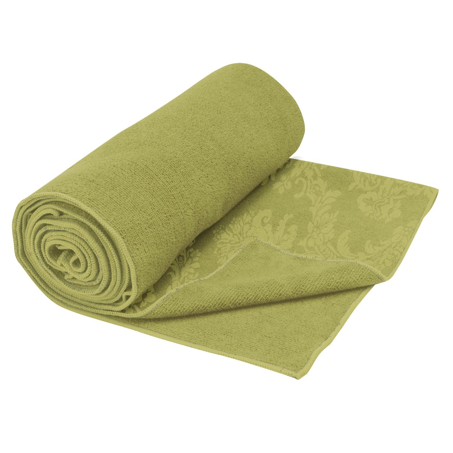 gaiam thirsty yoga towel green