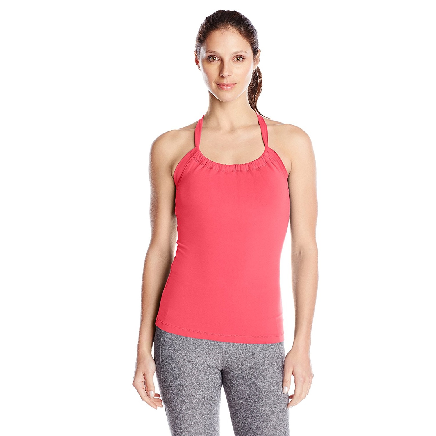 prana womens quinn chakara yoga top shirt azalea