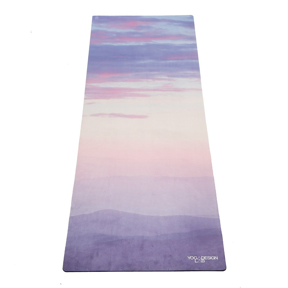 the combo yoga mat towel design, breathe