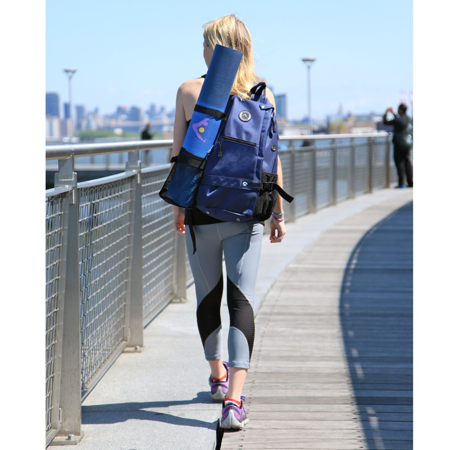 aurorae multi purpose yoga mat bag