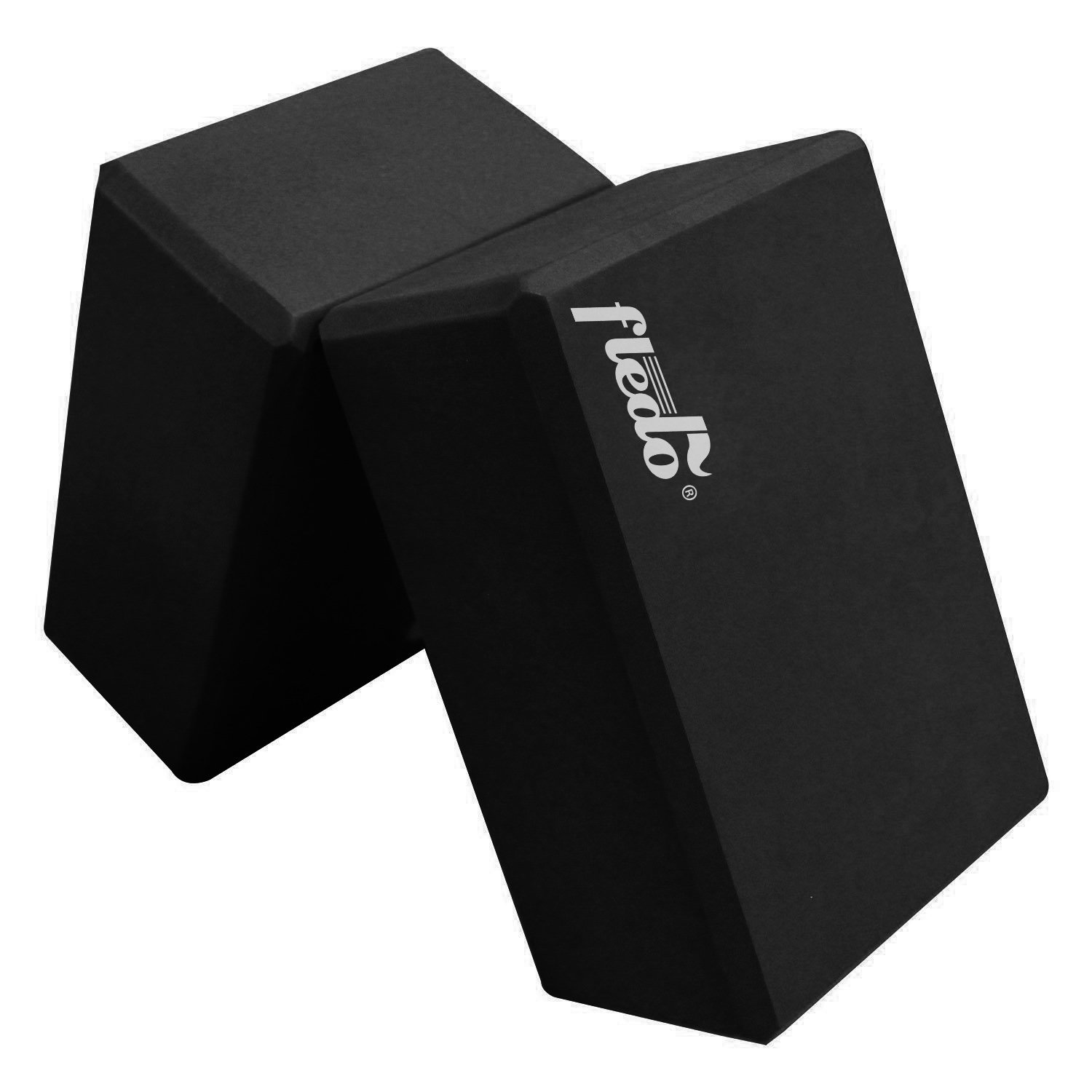 fledo black eva foam yoga blocks