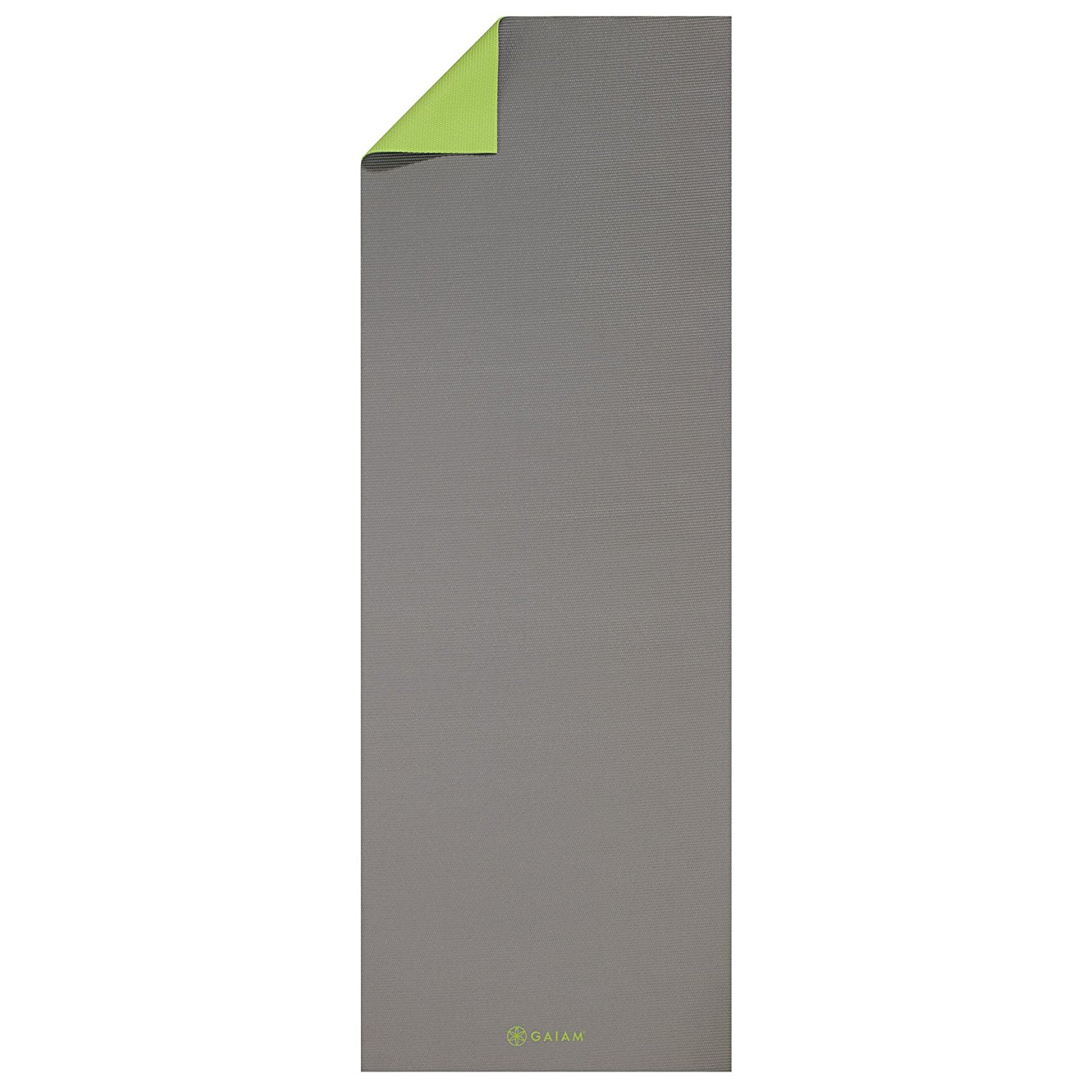 gaiam solid non-slip antigua yoga mat
