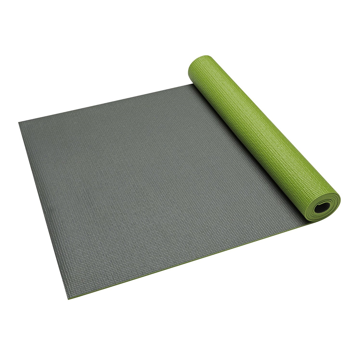 gaiam solid non-slip honeydew yoga mat