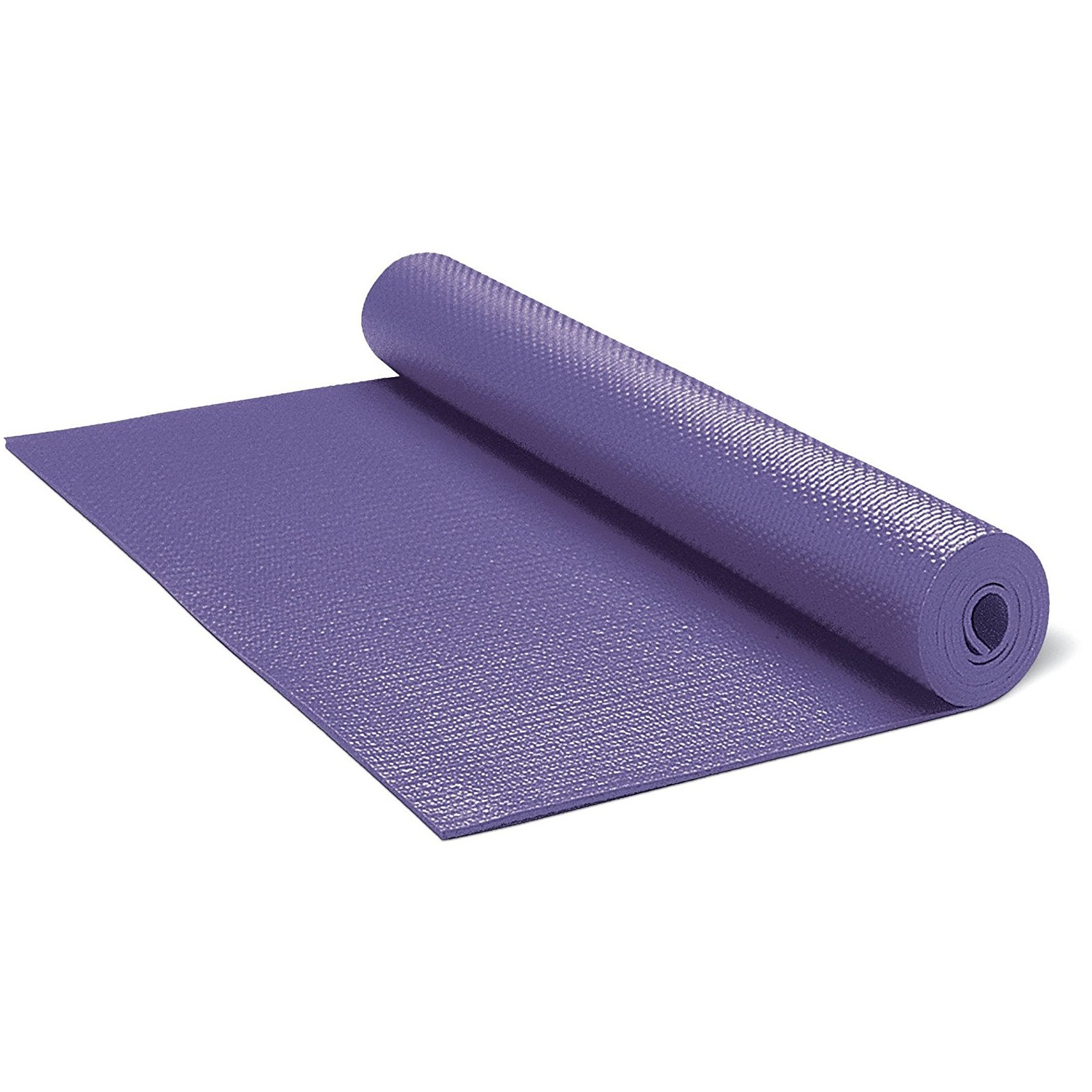 gaiam solid non-slip purple yoga mat