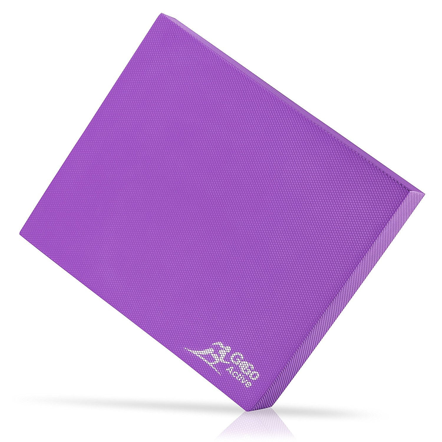 go go active non-skid thick purple yoga balance pad
