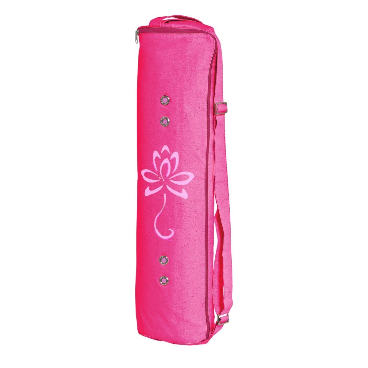 meru large pink yoga mat bag