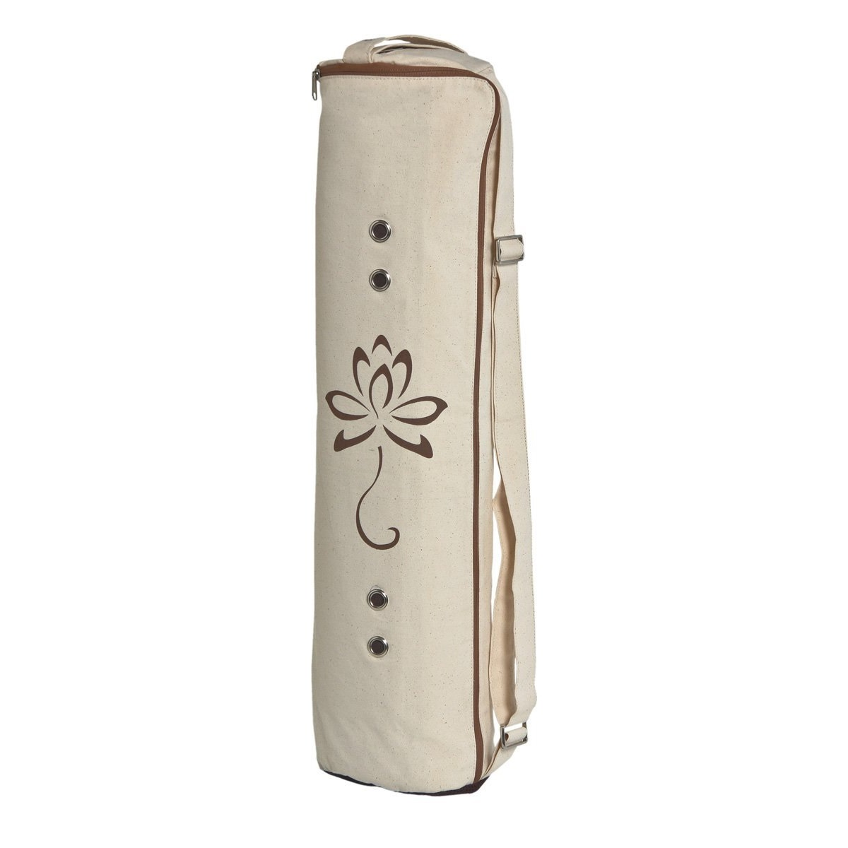 meru large white yoga mat bag