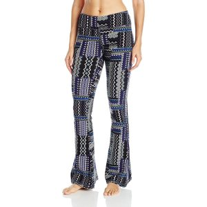 prana womens juniper bluebell fossil yoga pants