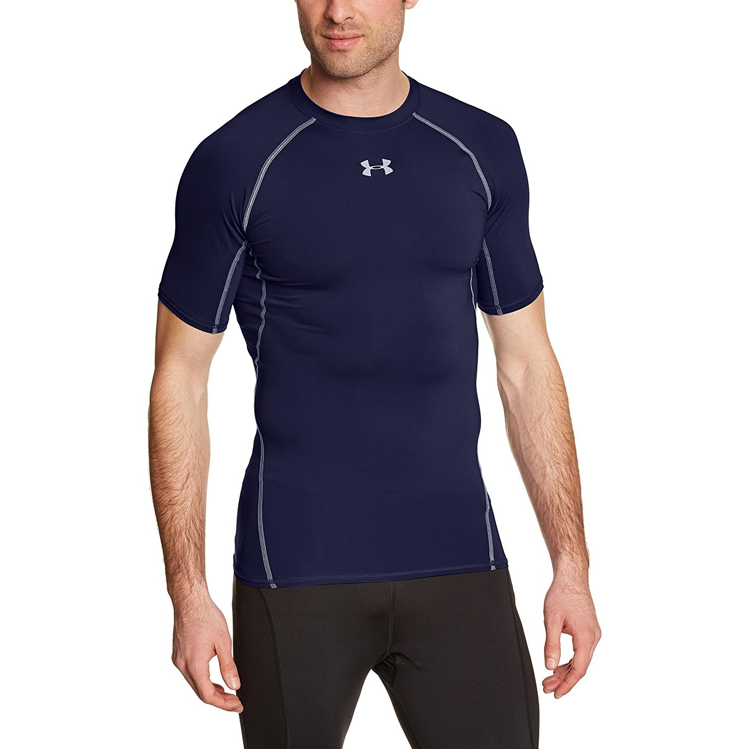 vaso esagerazione Gli ospiti  Under Armour Men's HeatGear Short Sleeve Compression Yoga Shirt