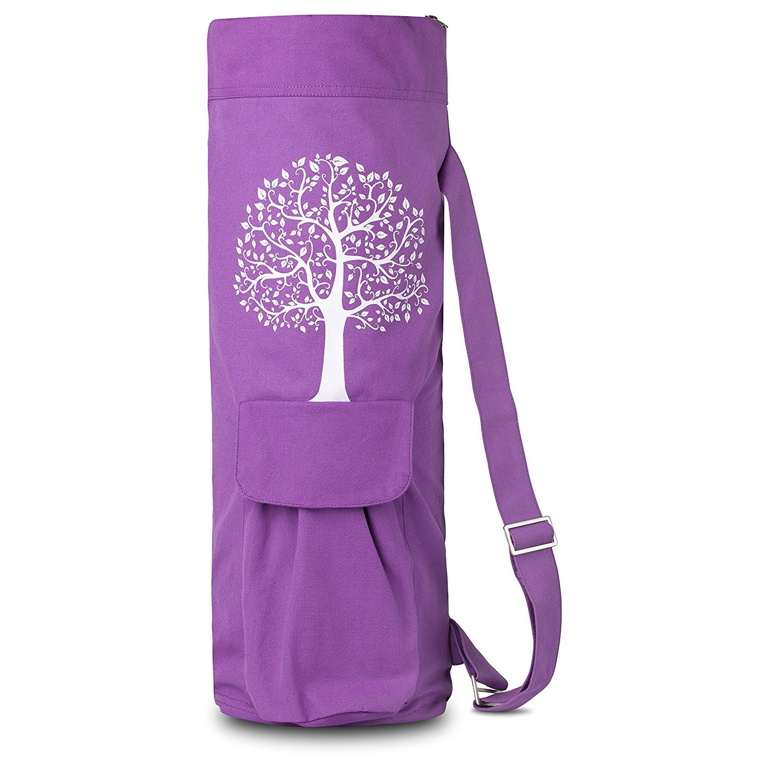 balancefrom goyoga purple yoga mat bag