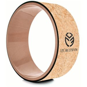 upcircleseven cork yoga wheel