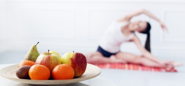 yoga plus a proper diet for weight loss