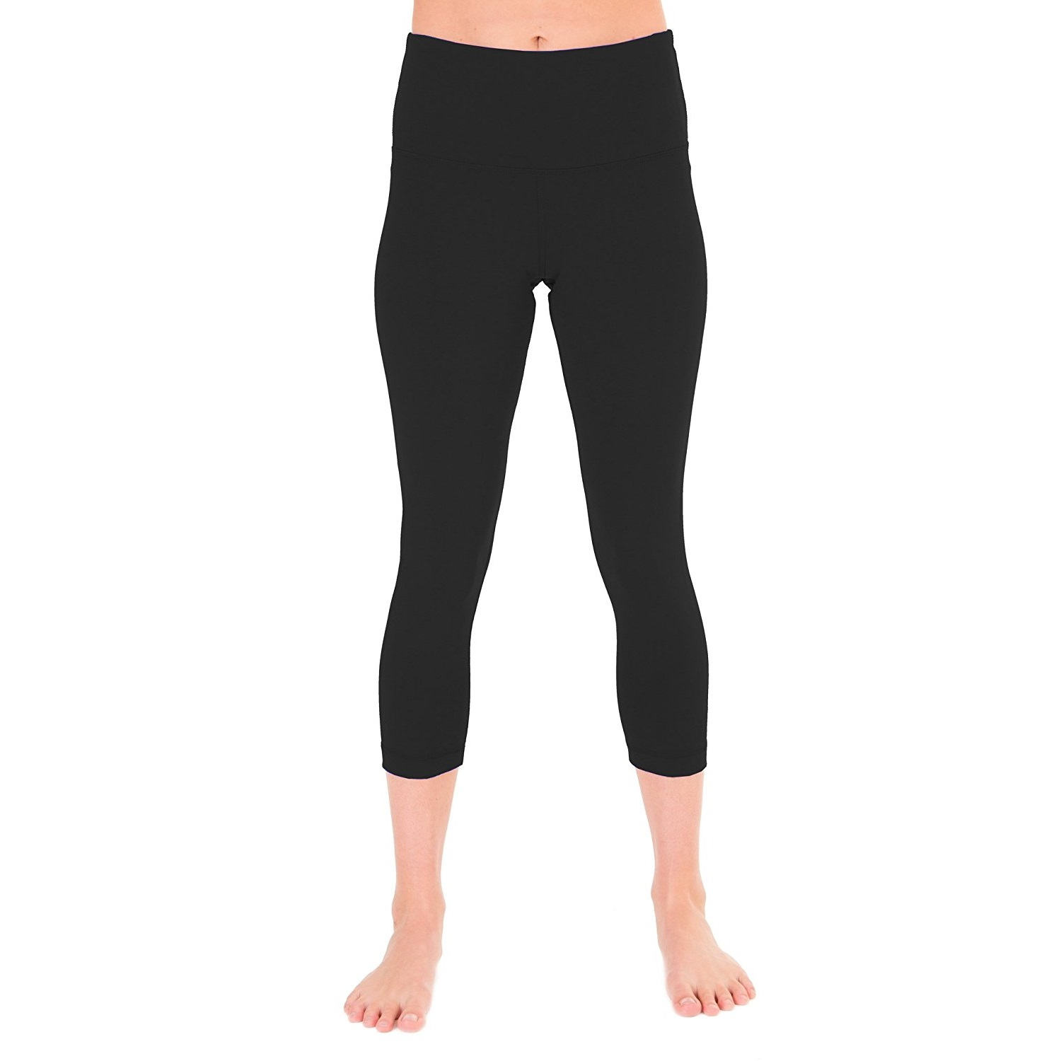 90 degree by reflex black womens yoga capri pants