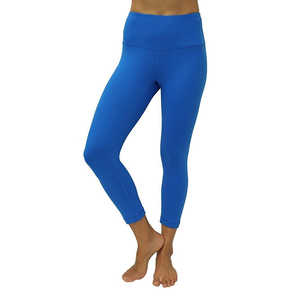 90 degree by reflex blue grotto womens yoga capri pants