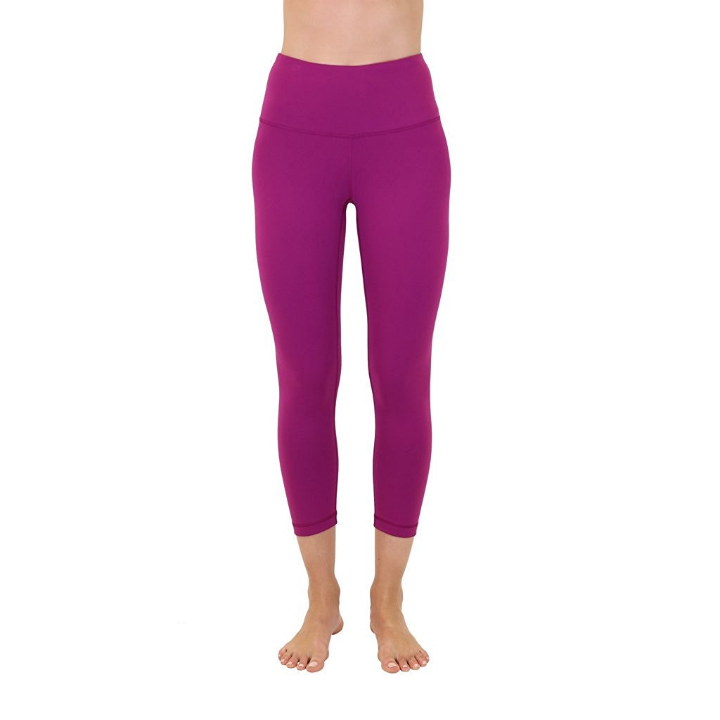 90 degree by reflex festival fuchsia womens yoga capri pants