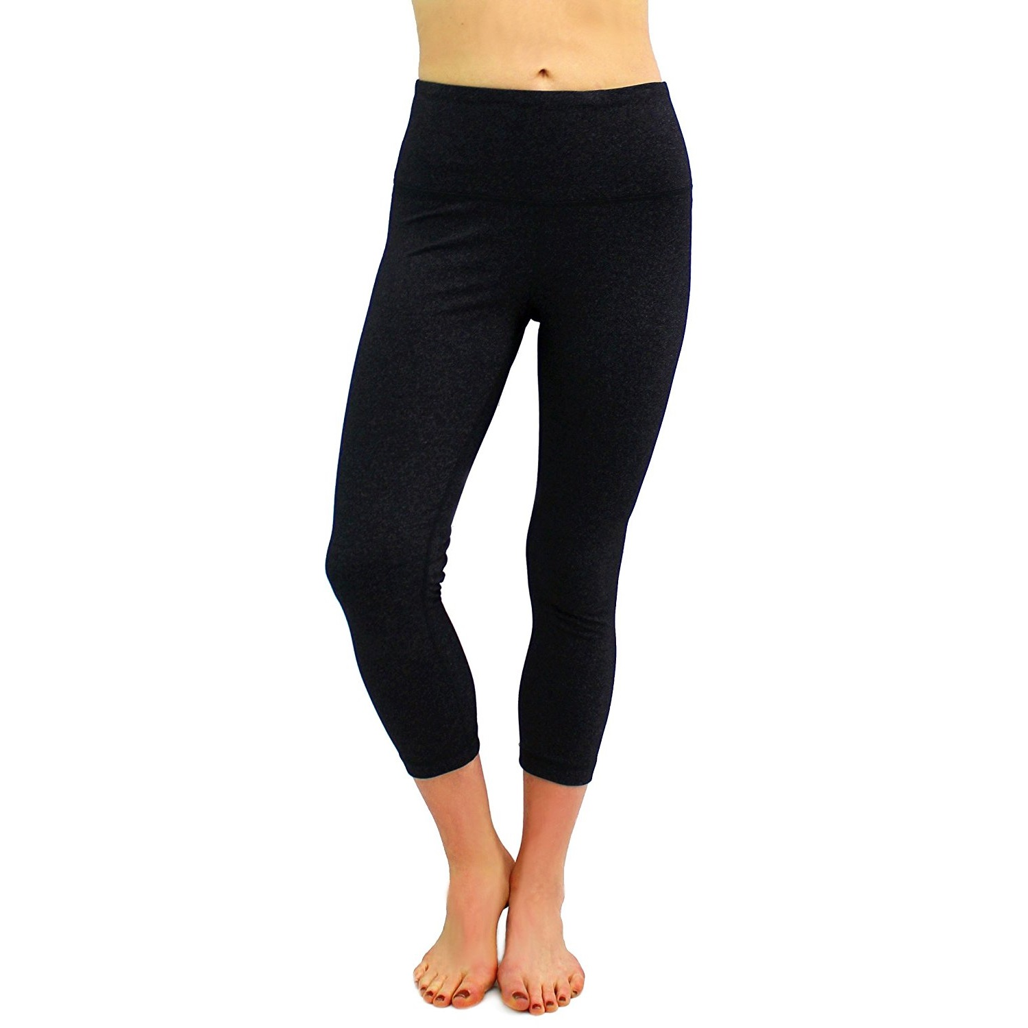 90 degree by reflex heather charcoal womens yoga capri pants