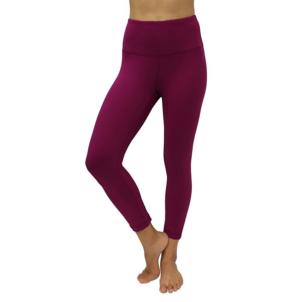 90 degree by reflex magenta haze womens yoga capri pants