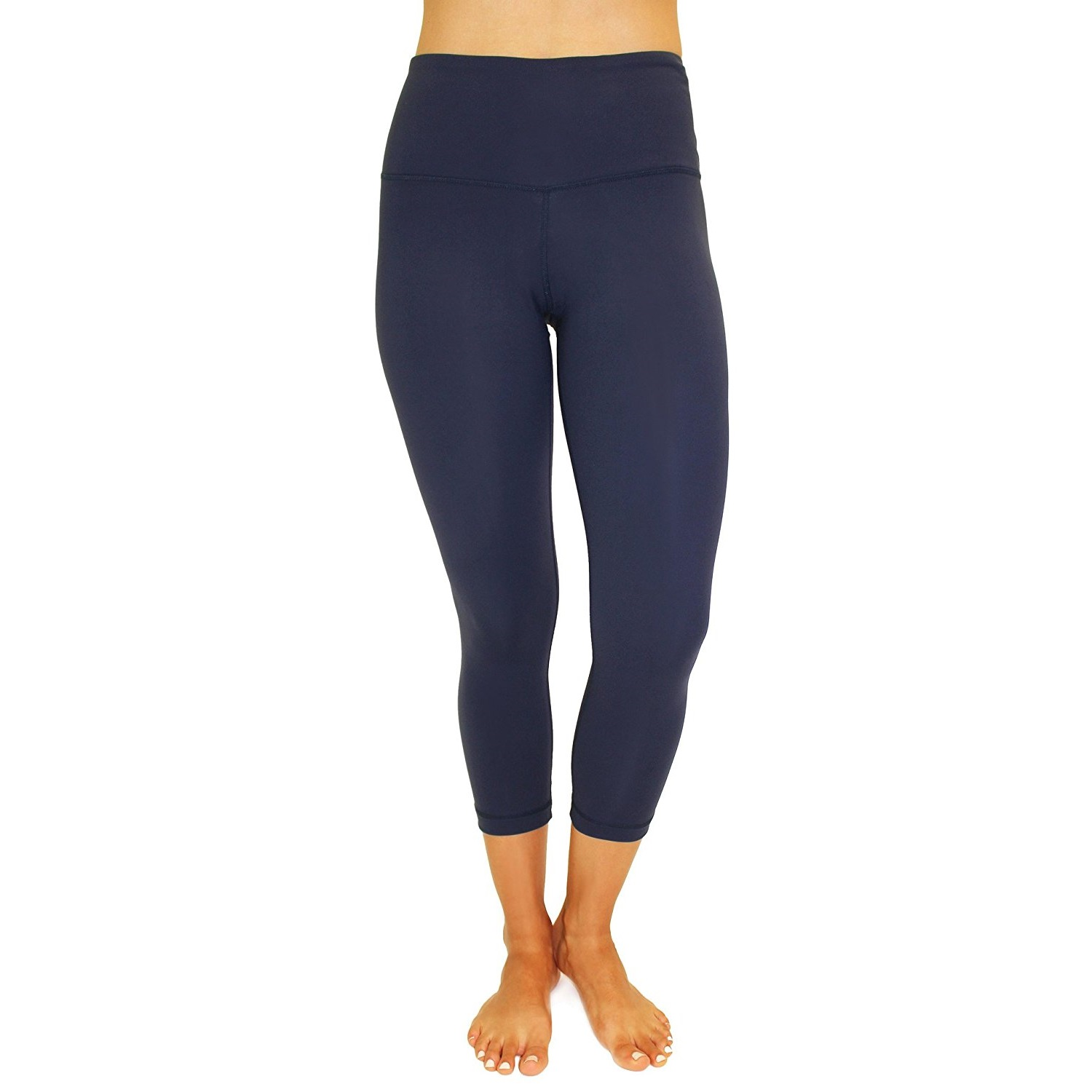 90 degree by reflex midnight navy womens yoga capri pants