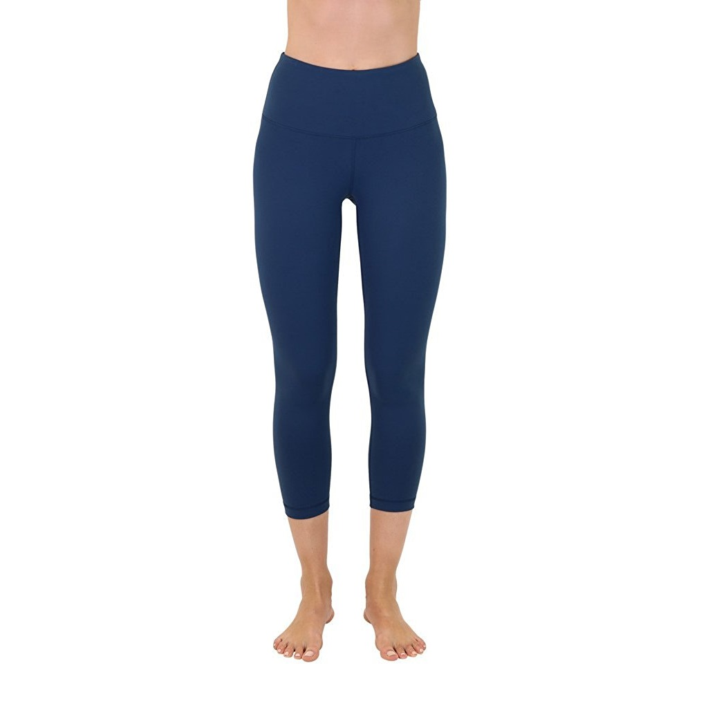 90 degree by reflex moroccan teal womens yoga capri pants