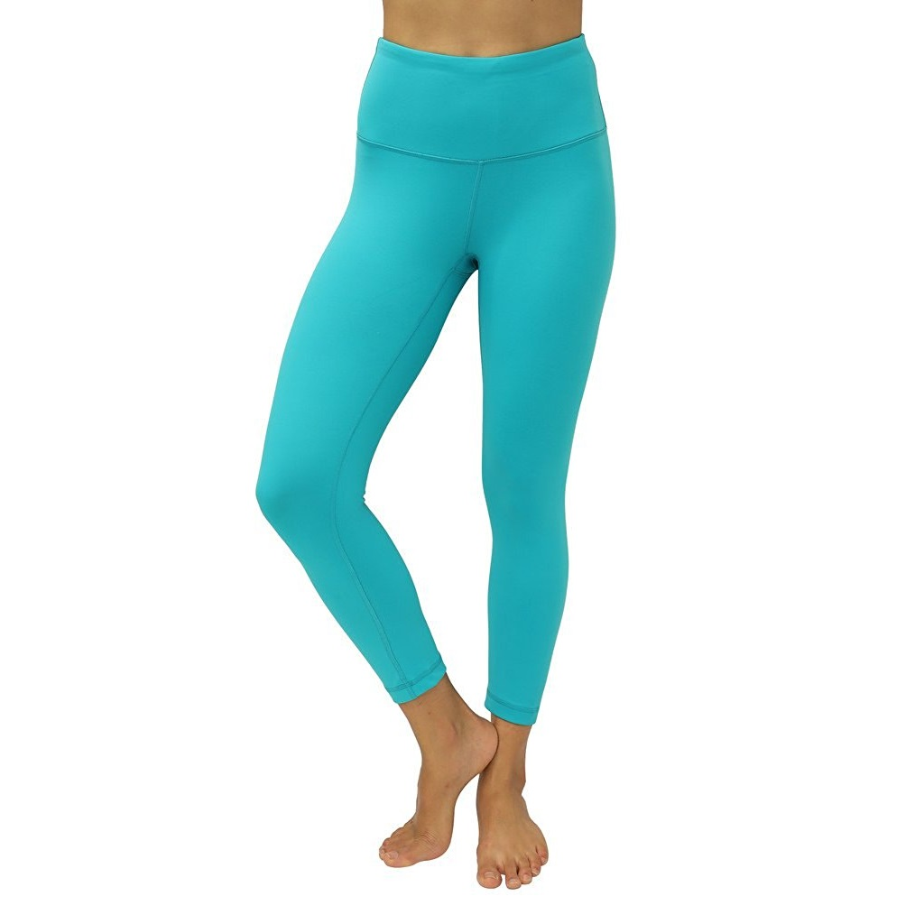 90 degree by reflex seagreen womens yoga capri pants