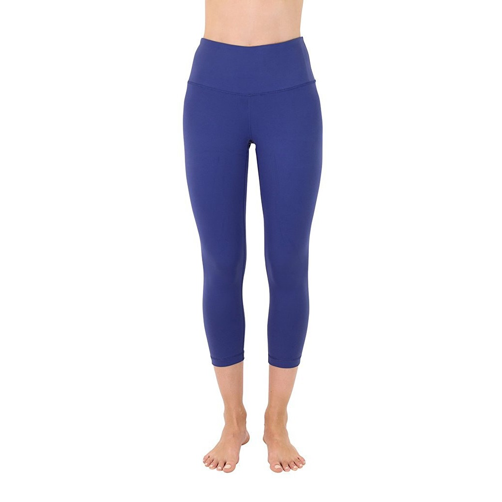 90 degree by reflex spring navy womens yoga capri pants