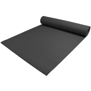 yogaaccessories extra thick black yoga mat