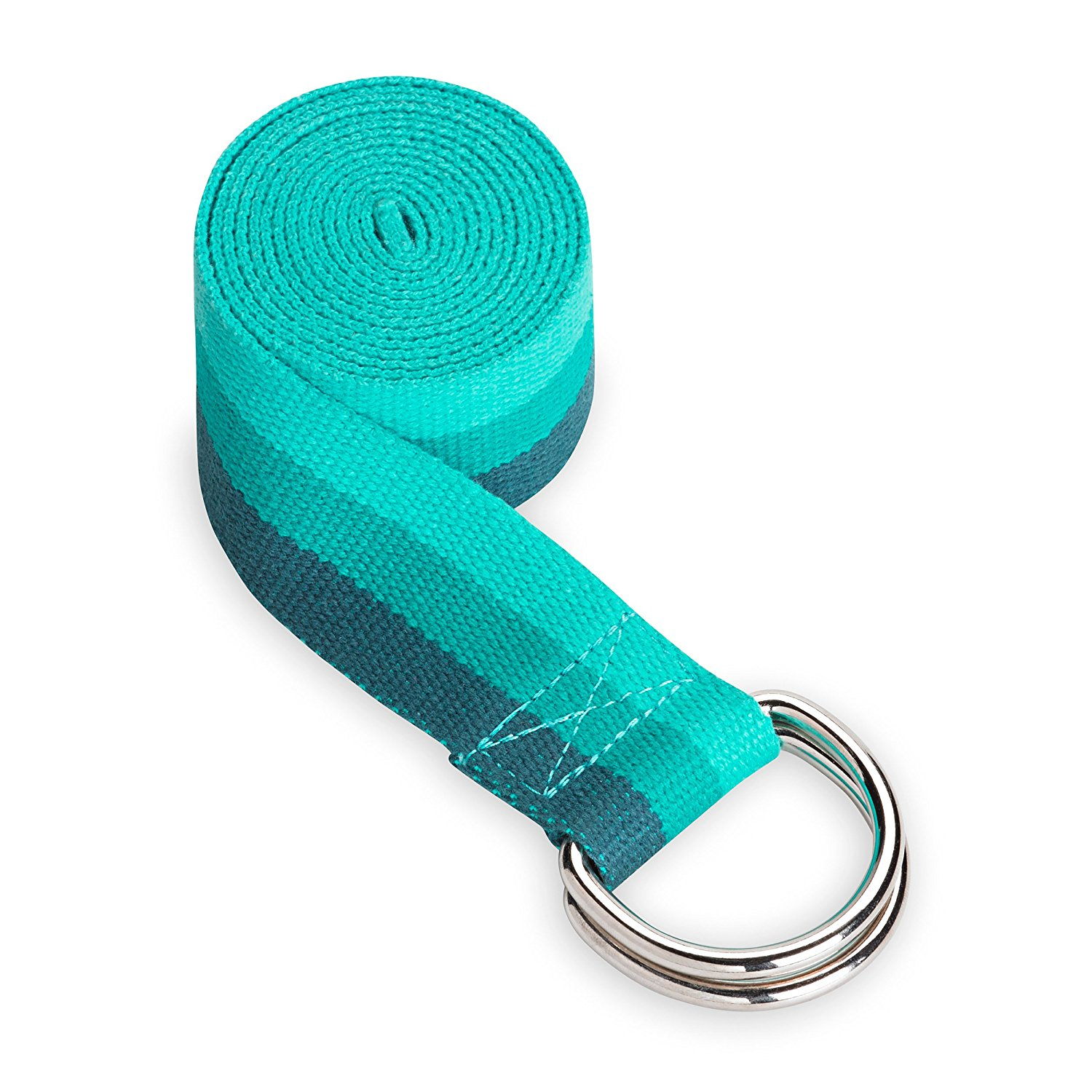 gaiam lush teal yoga strap