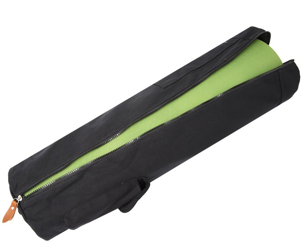 black elenture yoga mat bag