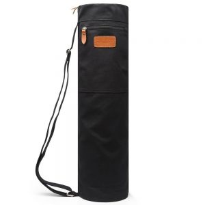 elenture yoga mat bag black