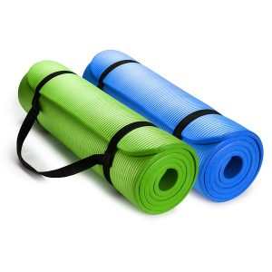a 2 pack combo of hemingweighs high density yoga mat