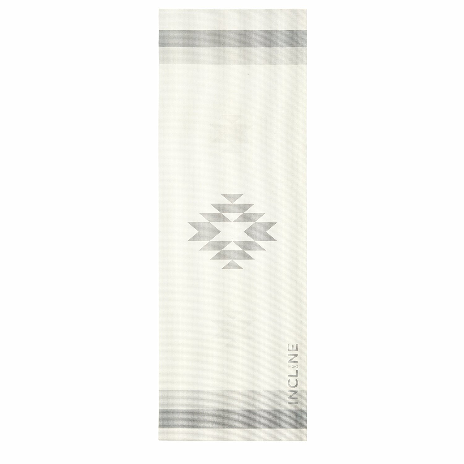 incline fit printed yoga mat aztec asana