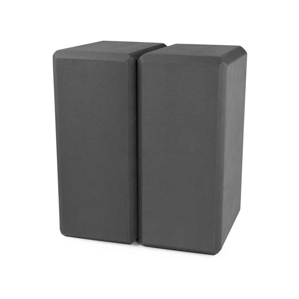 nu-source black yoga foam blocks